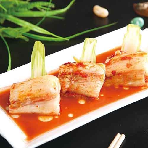 开胃的韩国泡菜的制作方法