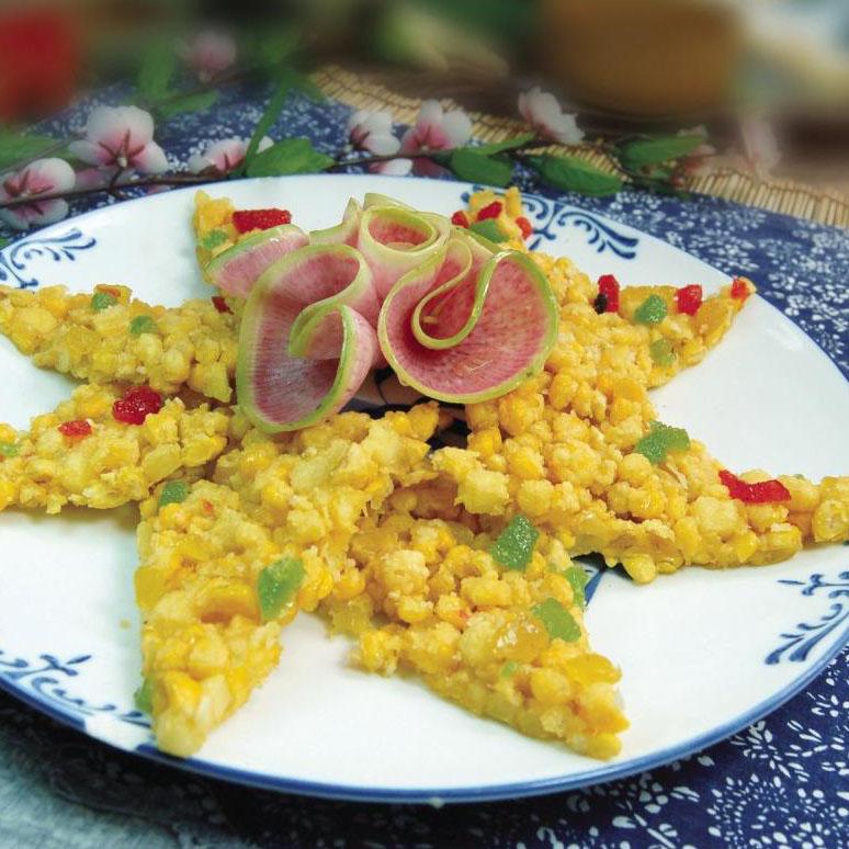 简单水果玉米