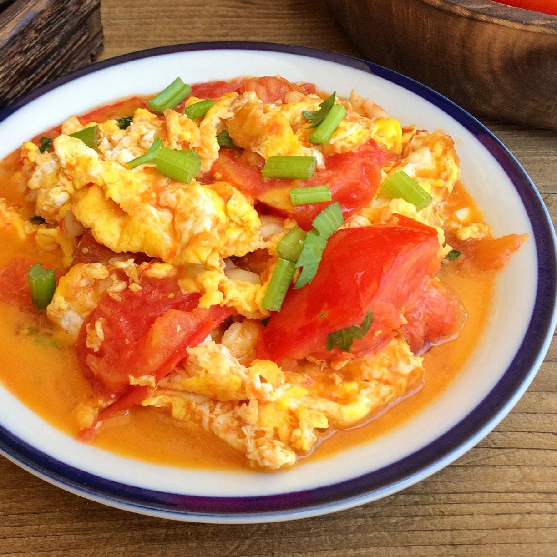 家常菜番茄炒蛋
