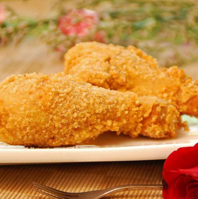 油而不腻的香酥炸鸡