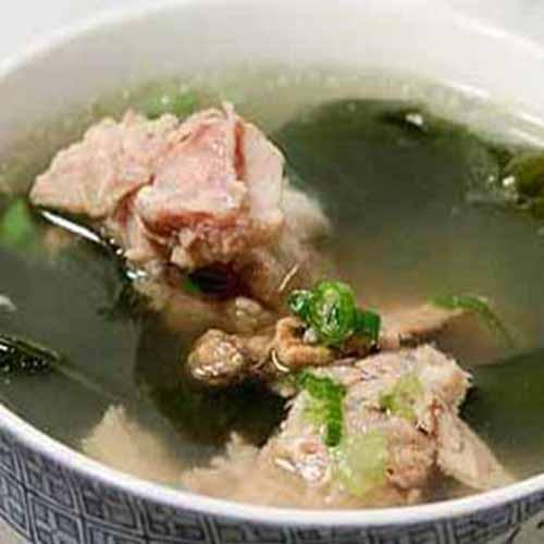 猪肉豆腐海带汤