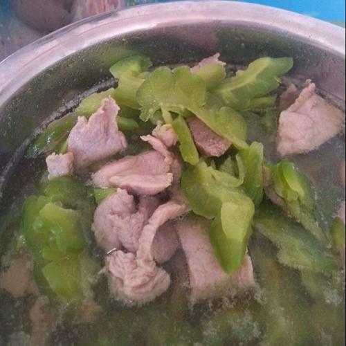 苦瓜瘦肉汤