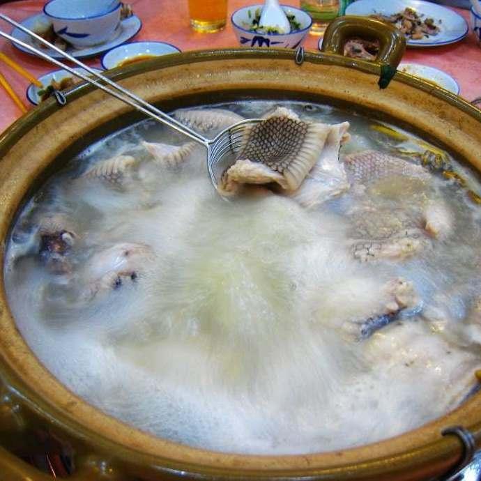 营养蛇肉汤