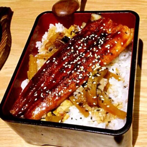 美味的鳗鱼饭