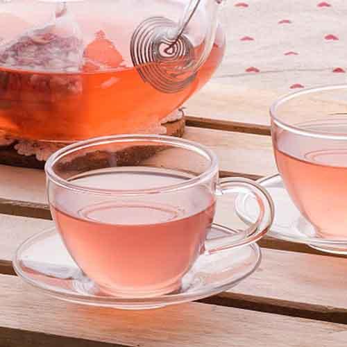 减肥玫瑰柠檬茶
