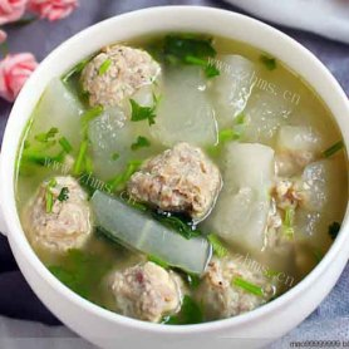 营养冬瓜牛肉丸子汤