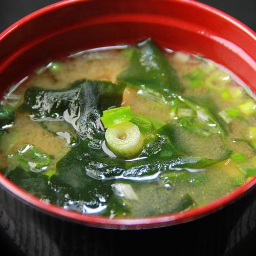秋葵味噌汤