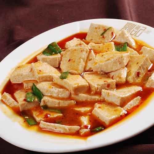 特色卤水点豆腐