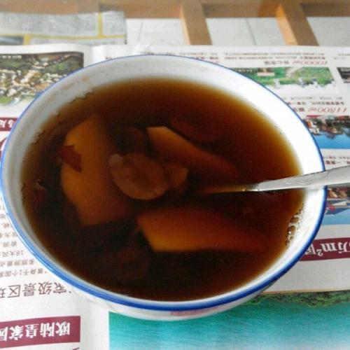 滋补的姜汤