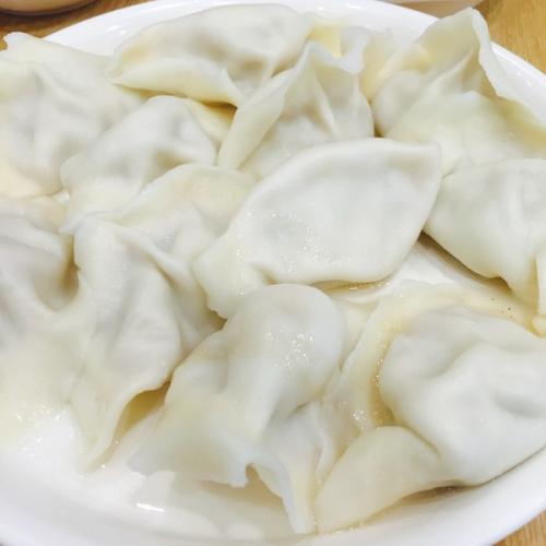 猪肉圆白菜饺子