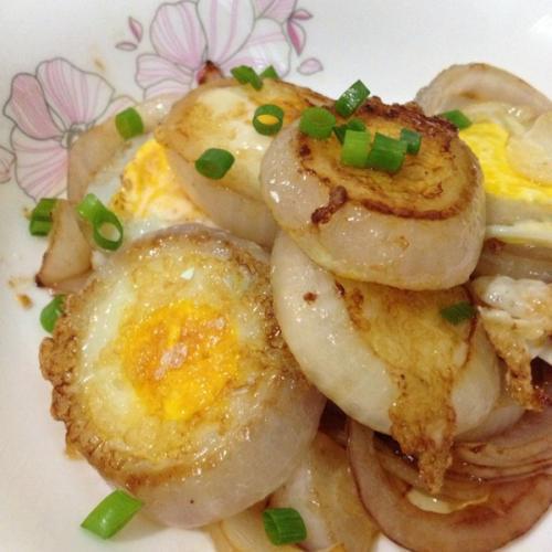 洋葱圈煎蛋
