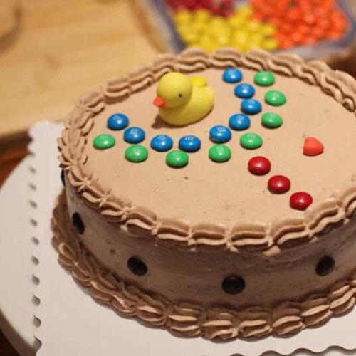 自制版蓝莓奶油蛋糕
