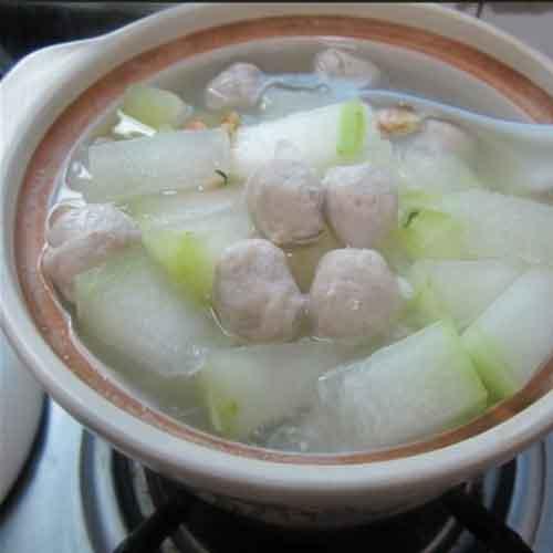 美味冬瓜牛肉丸子汤