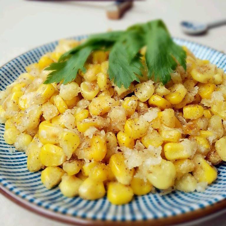 好吃的椒盐玉米的做法