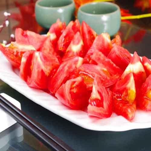 家常糖拌西红柿