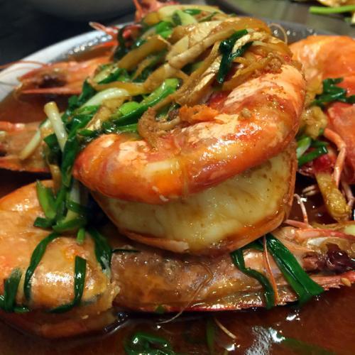 美味红烧大虾