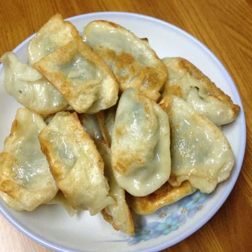 秀色可餐的油煎饺子