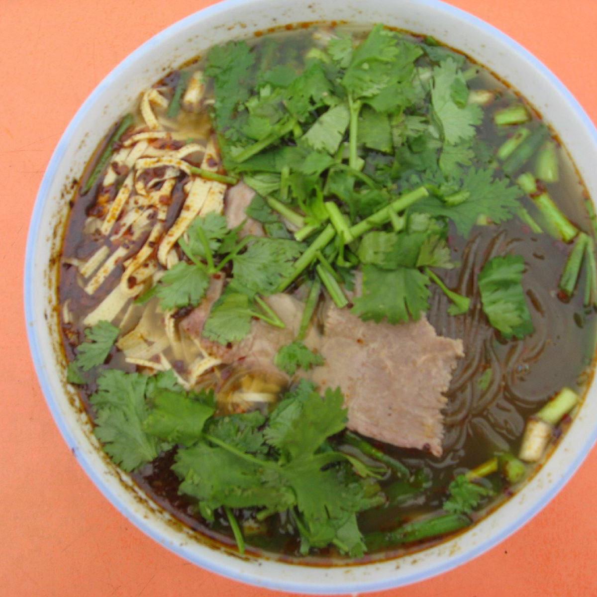 美味的淮南牛肉汤