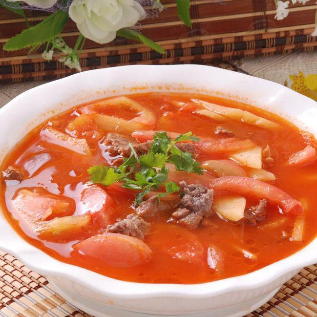特质牛肉炖柿子