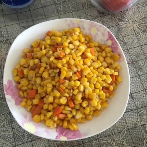 健康美食之松仁玉米