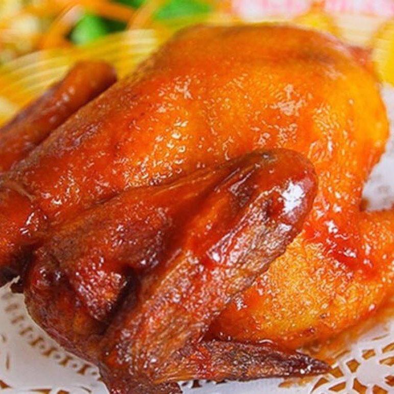 美味的扒鸡