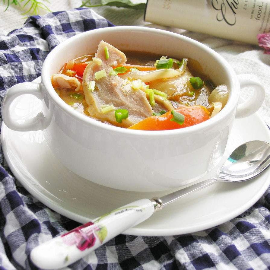 美味的猪肚汤