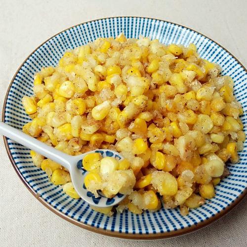 咸鲜的椒盐玉米的做法