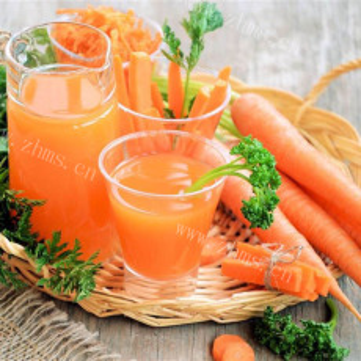 健脾红萝卜汁