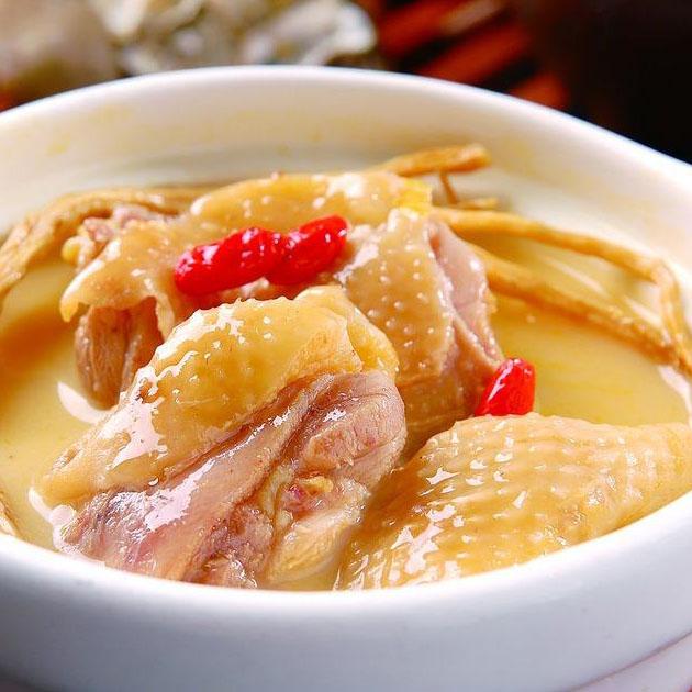 清甜的煲鸡汤