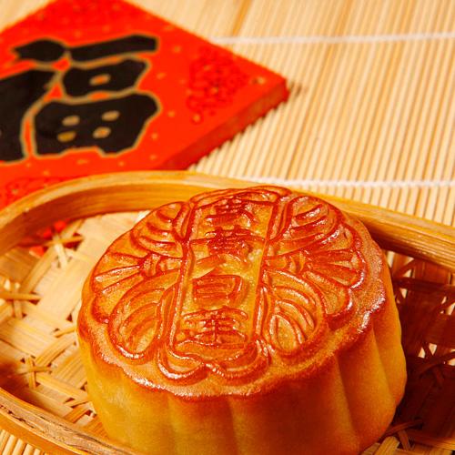 酥香可口的苏式鲜肉月饼