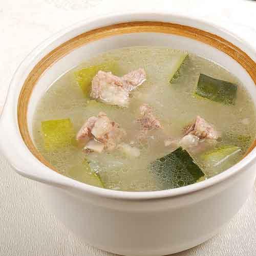 海带绿豆冬瓜排骨汤