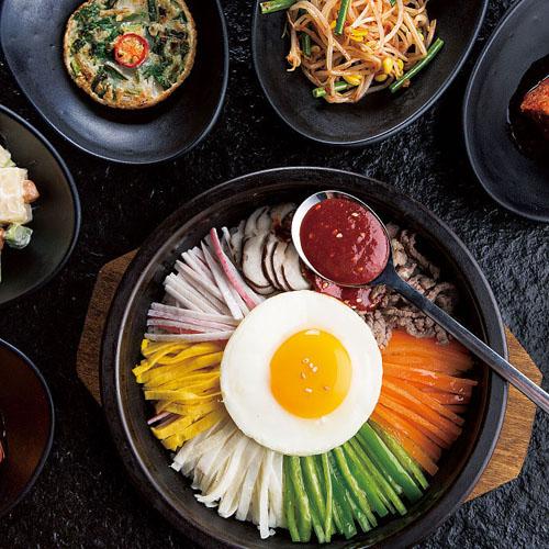 香糯爽滑的韩国拌饭