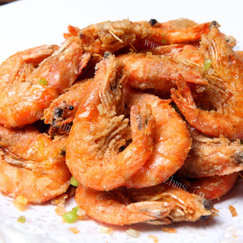 家庭版-椒盐虾
