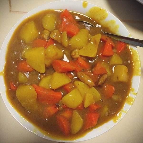 简单易做的咖喱土豆