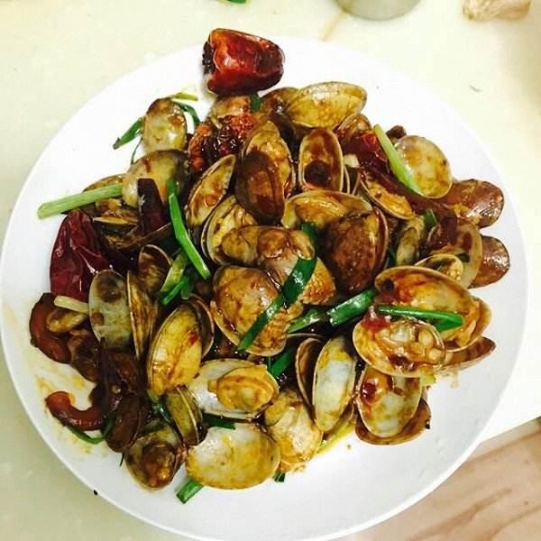 健康美食之辣炒蚬子