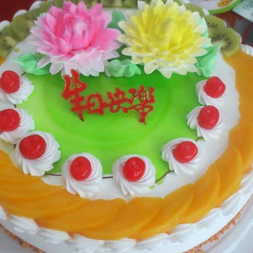 水果奶油生日蛋糕做法