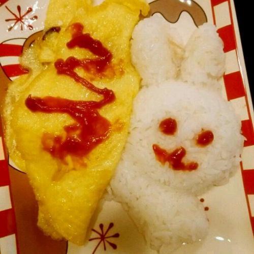 美味韩式蛋包饭