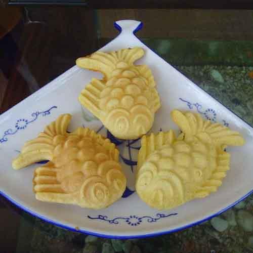可爱的小鱼饼