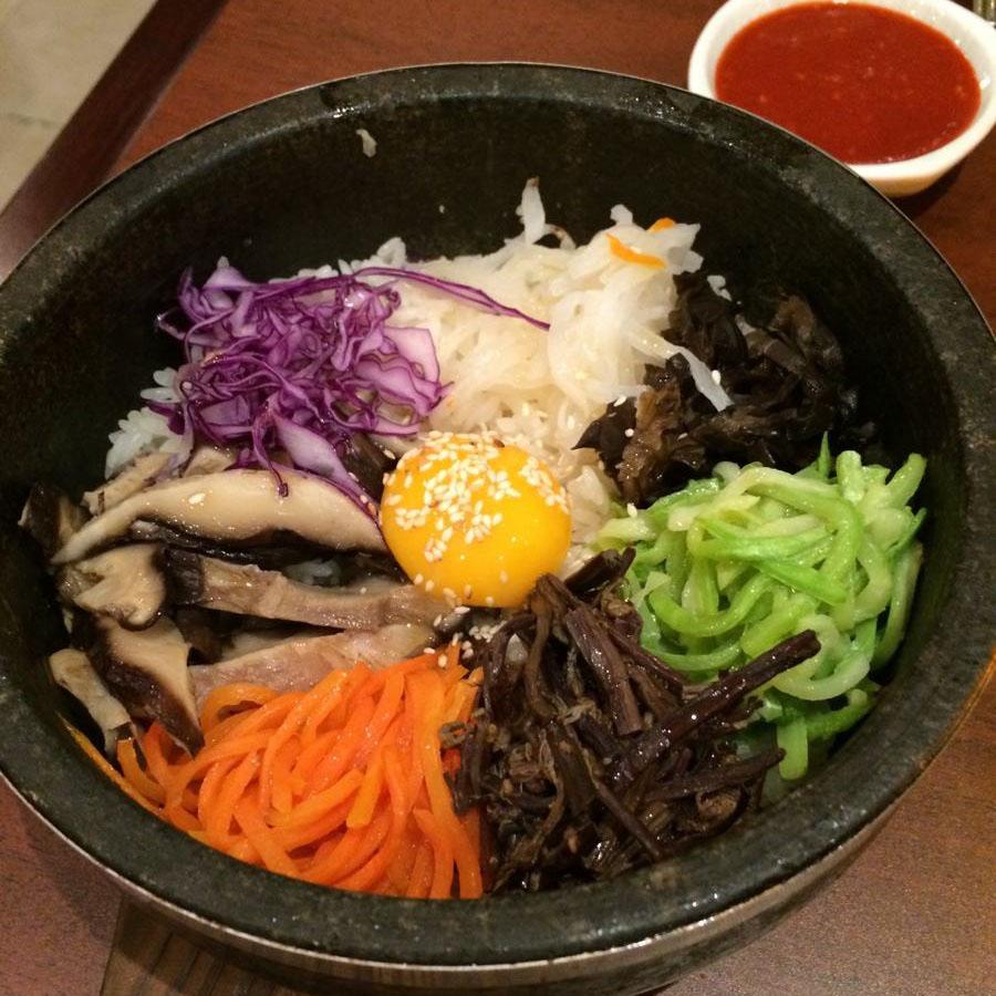 特色韩国拌饭