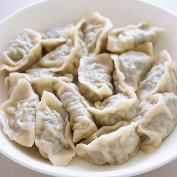 好吃的茴香苗饺子