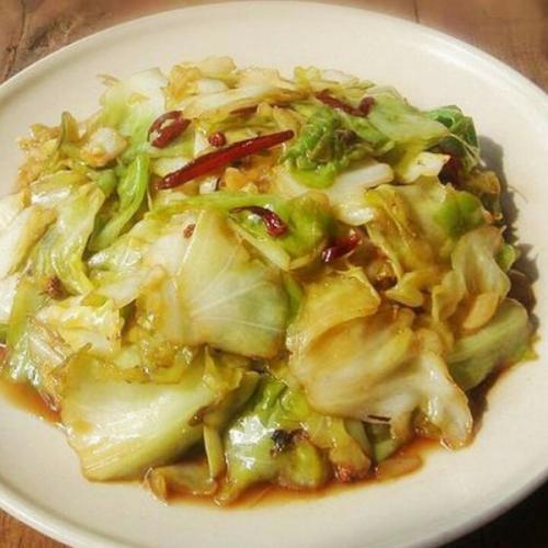 洋白菜炒西红柿