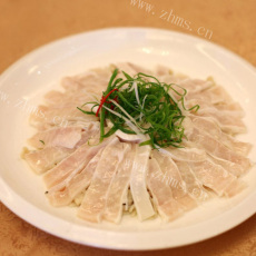 清爽的鱼片