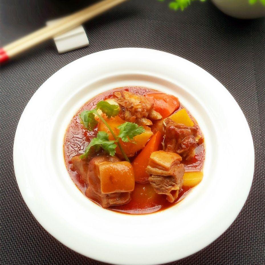 红焖羊肉炖萝卜的做法