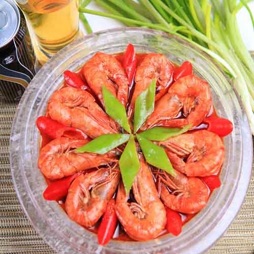 简单的红烧大虾