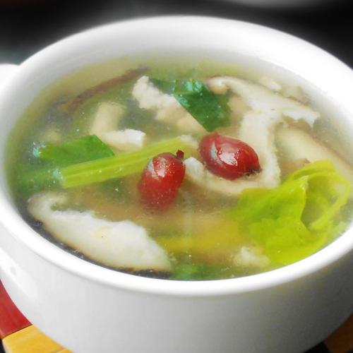 清淡菜干瘦肉汤
