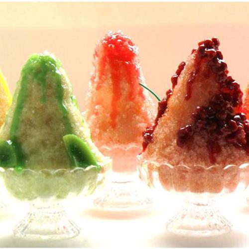 我爱吃水果沙冰