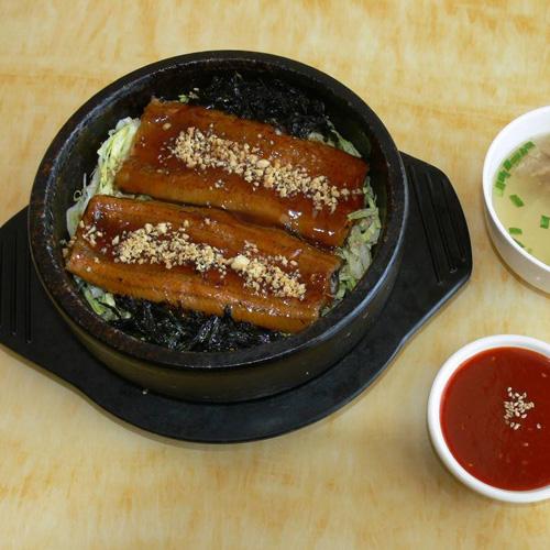 简单的韩国菜