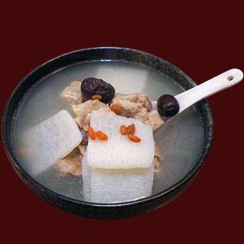 营养山药红枣排骨汤
