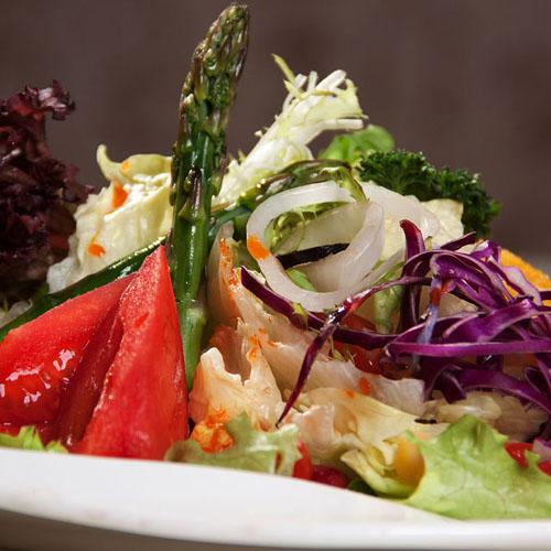 有特色的蔬菜沙拉
