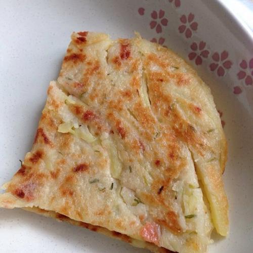 营养早餐香煎土豆饼